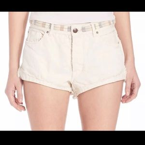 Free People Womens Ivory Eliot Embroidered sz25